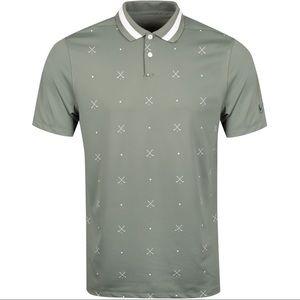 NEW Nike SZ XLarge Golf Dri Fit Vapor Print Polo